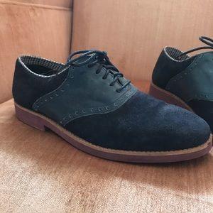 Other - Men's Navy Blue Oxford Saddle Shoes 10.5